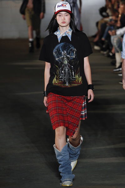 R13 Spring 2018 Ready-to-Wear - Look #5