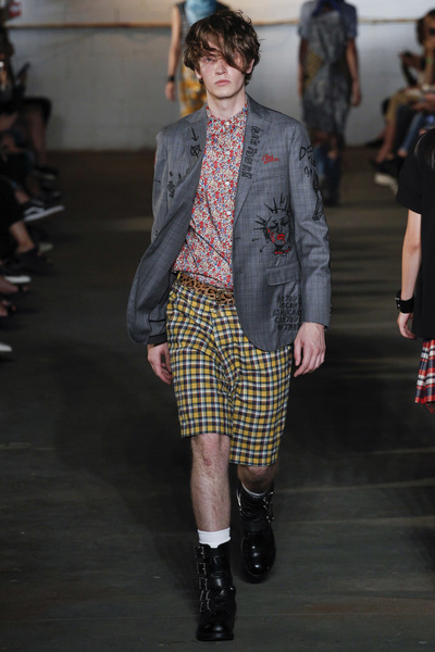 R13 Spring 2018 Ready-to-Wear - Look #6