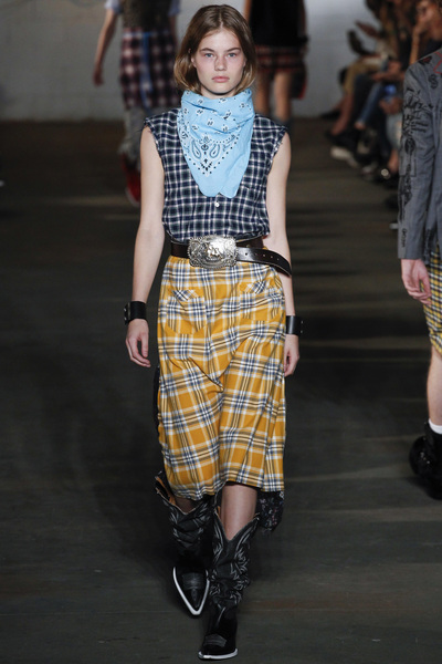 R13 Spring 2018 Ready-to-Wear - Look #7