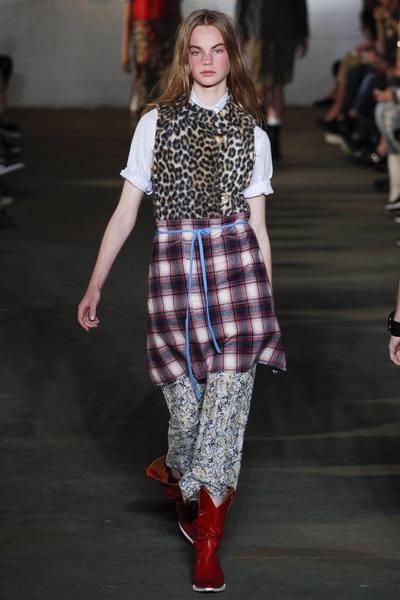 R13 Spring 2018 Ready-to-Wear - Look #8