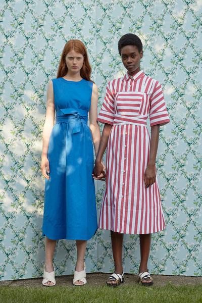 Rachel Antonoff Spring 2018 Ready-to-Wear - Look #17