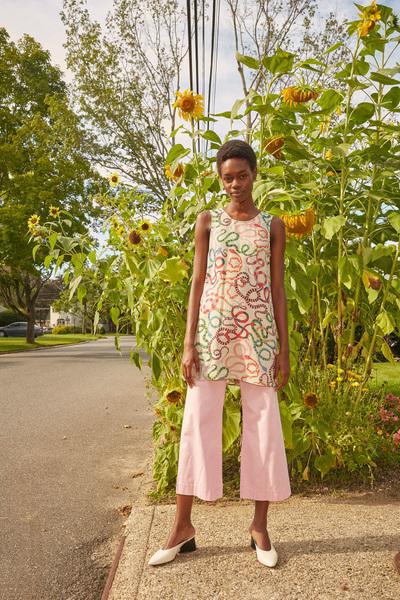 Rachel Antonoff Spring 2018 Ready-to-Wear - Look #21