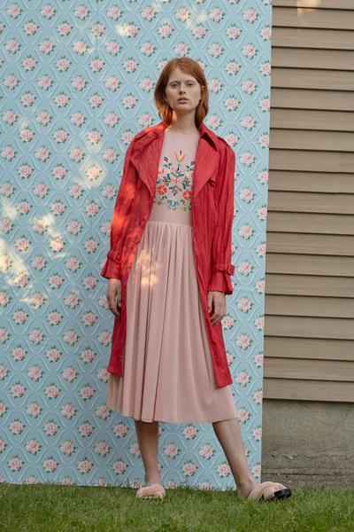 Rachel Antonoff Spring 2018 Ready-to-Wear - Look #22