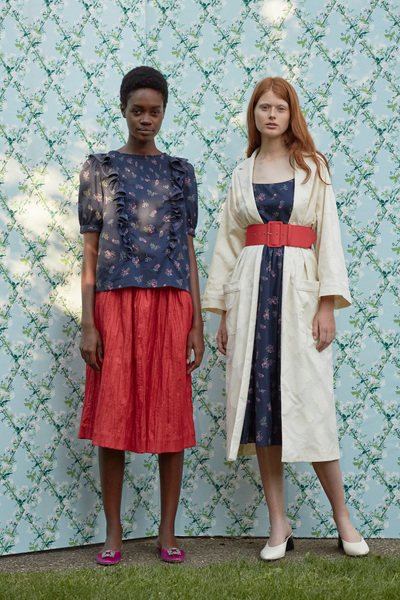 Rachel Antonoff Spring 2018 Ready-to-Wear - Look #23