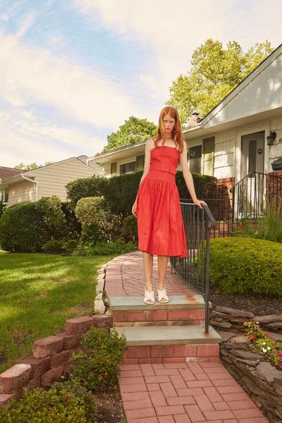 Rachel Antonoff Spring 2018 Ready-to-Wear - Look #24