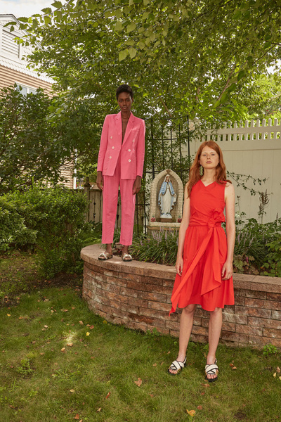 Rachel Antonoff Spring 2018 Ready-to-Wear - Look #7