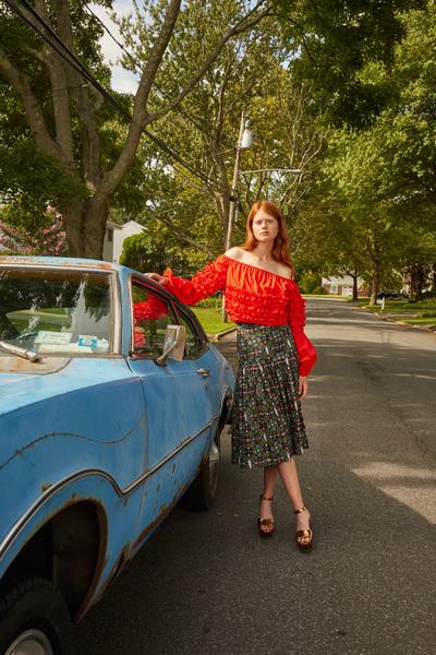 Rachel Antonoff Spring 2018 Ready-to-Wear - Look #8
