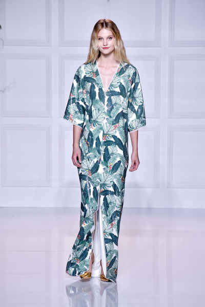 Rachel Zoe Spring 2018 Ready-to-Wear - Look #1
