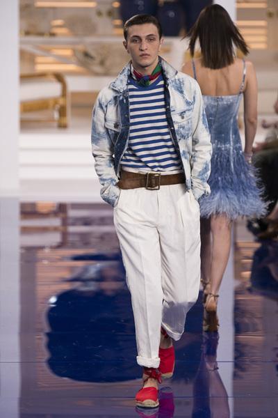 Ralph Lauren Spring 2018 Ready-to-Wear - Look #10