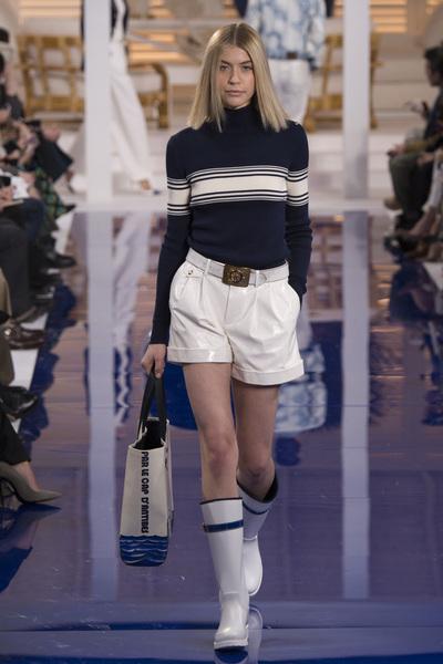 Ralph Lauren Spring 2018 Ready-to-Wear - Look #12