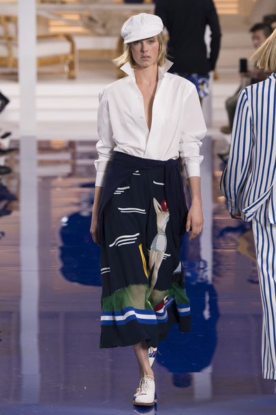 Ralph Lauren Spring 2018 Ready-to-Wear - Look #24
