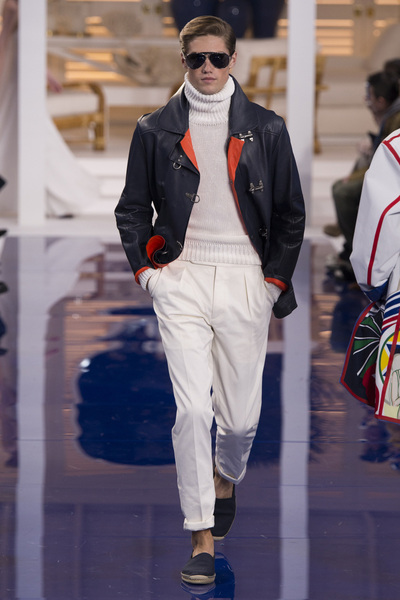 Ralph Lauren Spring 2018 Ready-to-Wear - Look #40