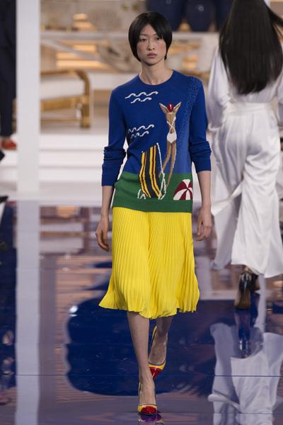 Ralph Lauren Spring 2018 Ready-to-Wear - Look #47