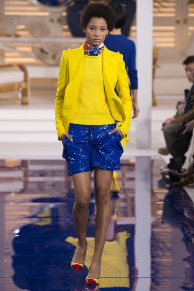 Ralph Lauren Spring 2018 Ready-to-Wear - Look #49