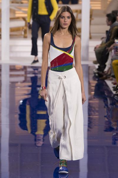 Ralph Lauren Spring 2018 Ready-to-Wear - Look #50