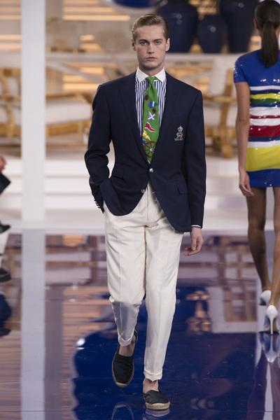 Ralph Lauren Spring 2018 Ready-to-Wear - Look #54