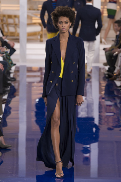 Ralph Lauren Spring 2018 Ready-to-Wear - Look #56