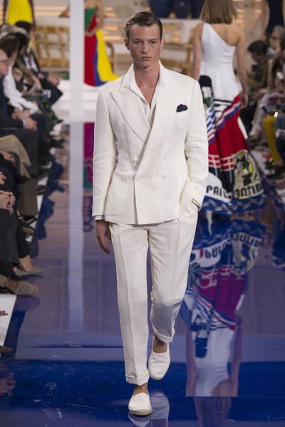 Ralph Lauren Spring 2018 Ready-to-Wear - Look #63