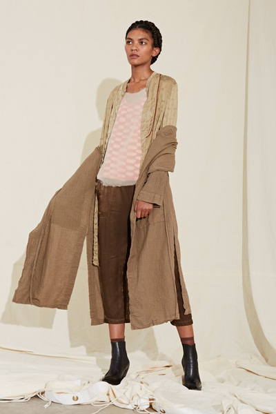 Raquel Allegra Spring 2018 Ready-to-Wear - Look #1