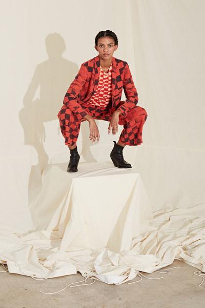 Raquel Allegra Spring 2018 Ready-to-Wear - Look #11