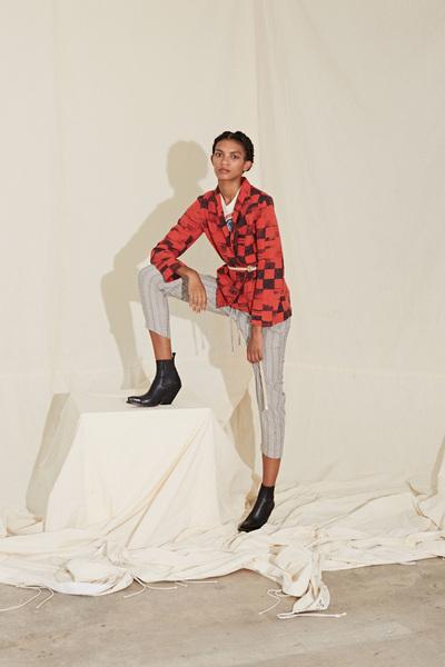 Raquel Allegra Spring 2018 Ready-to-Wear - Look #12