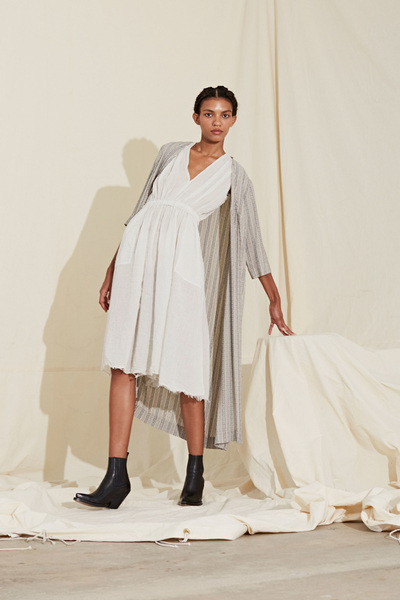 Raquel Allegra Spring 2018 Ready-to-Wear - Look #13