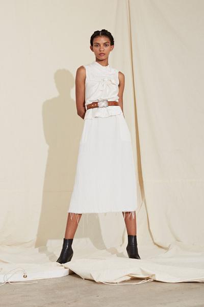 Raquel Allegra Spring 2018 Ready-to-Wear - Look #14