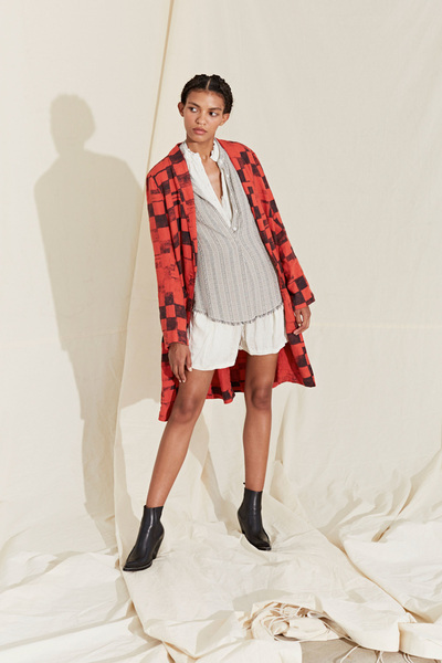 Raquel Allegra Spring 2018 Ready-to-Wear - Look #15