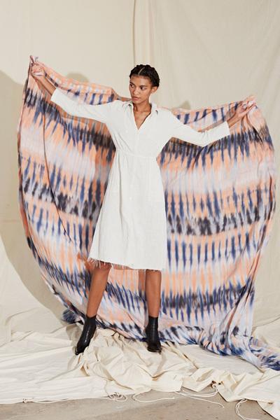 Raquel Allegra Spring 2018 Ready-to-Wear - Look #17