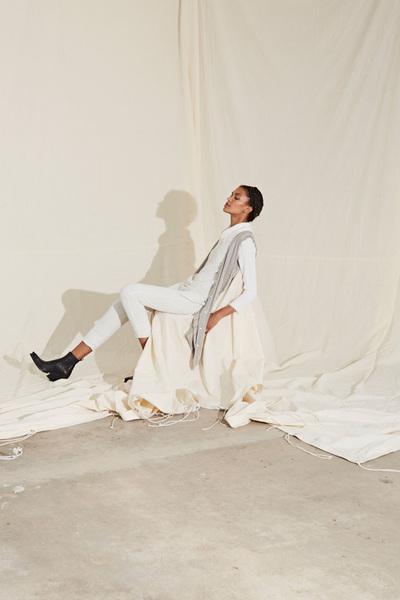 Raquel Allegra Spring 2018 Ready-to-Wear - Look #18