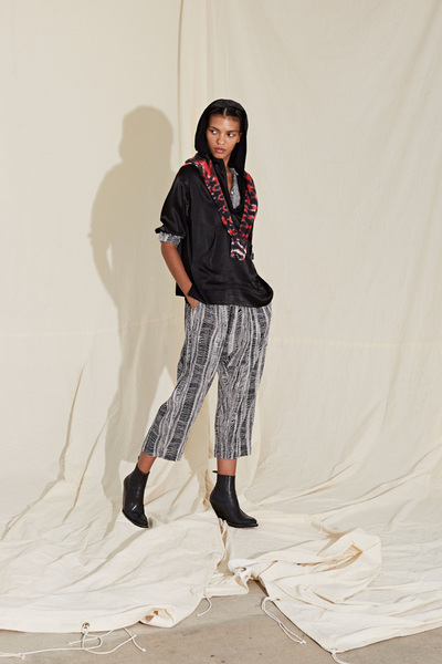 Raquel Allegra Spring 2018 Ready-to-Wear - Look #19