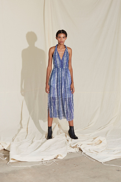 Raquel Allegra Spring 2018 Ready-to-Wear - Look #20