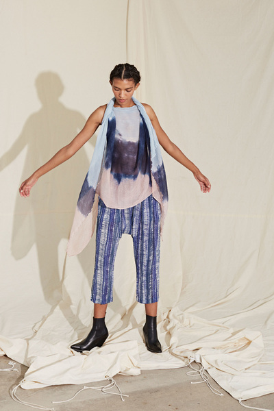 Raquel Allegra Spring 2018 Ready-to-Wear - Look #21