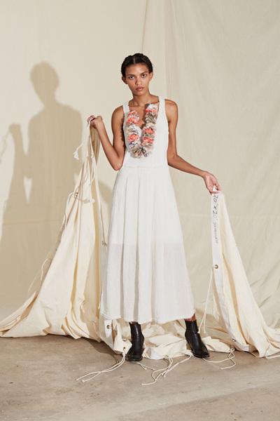 Raquel Allegra Spring 2018 Ready-to-Wear - Look #23