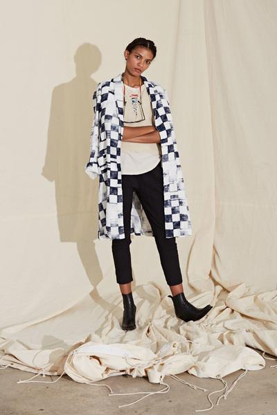 Raquel Allegra Spring 2018 Ready-to-Wear - Look #25