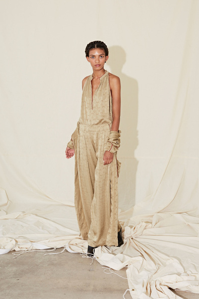 Raquel Allegra Spring 2018 Ready-to-Wear - Look #3