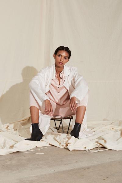 Raquel Allegra Spring 2018 Ready-to-Wear - Look #31
