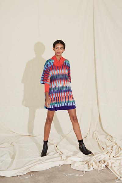 Raquel Allegra Spring 2018 Ready-to-Wear - Look #4