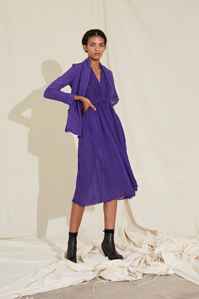 Raquel Allegra Spring 2018 Ready-to-Wear - Look #6