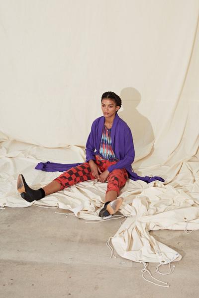 Raquel Allegra Spring 2018 Ready-to-Wear - Look #7