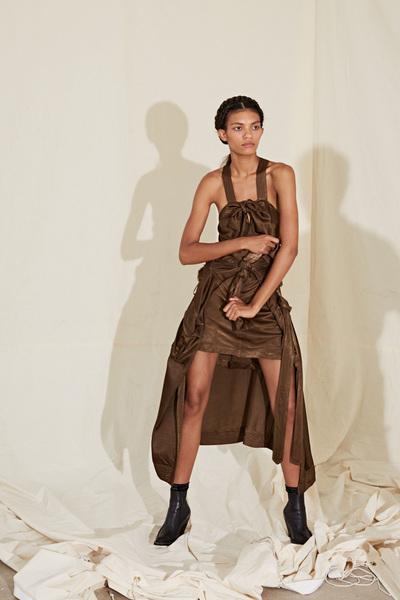 Raquel Allegra Spring 2018 Ready-to-Wear - Look #8