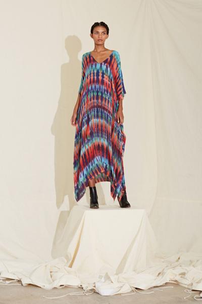 Raquel Allegra Spring 2018 Ready-to-Wear - Look #9