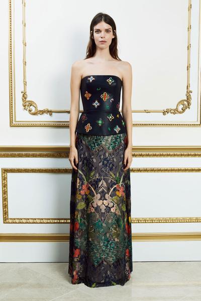 Reem Acra Spring 2018 Ready-to-Wear - Look #15