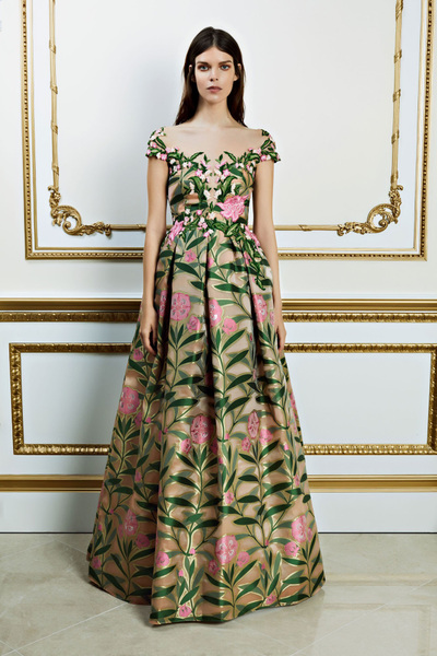 Reem Acra Spring 2018 Ready-to-Wear - Look #19