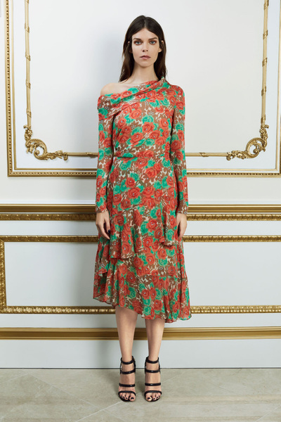 Reem Acra Spring 2018 Ready-to-Wear - Look #21