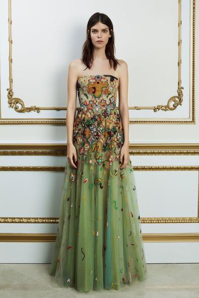 Reem Acra Spring 2018 Ready-to-Wear - Look #29