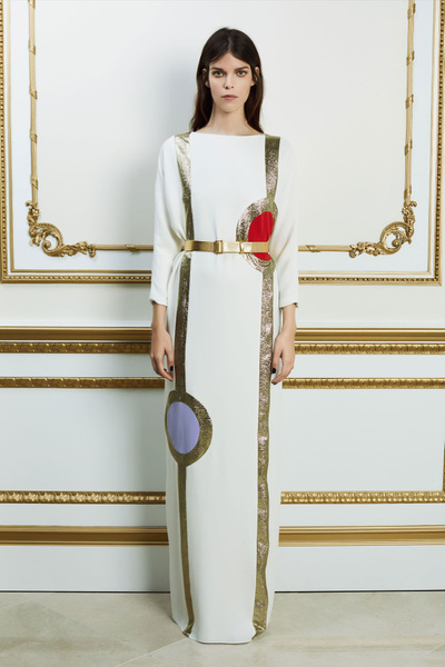 Reem Acra Spring 2018 Ready-to-Wear - Look #4