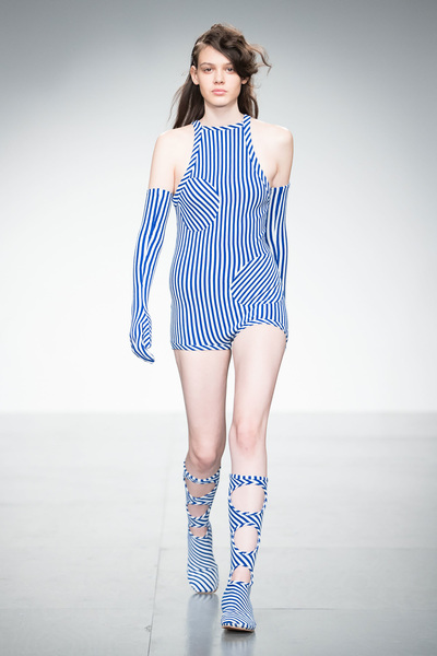 Richard Malone Spring 2018 Ready-to-Wear - Look #10