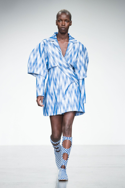 Richard Malone Spring 2018 Ready-to-Wear - Look #12
