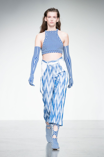 Richard Malone Spring 2018 Ready-to-Wear - Look #14